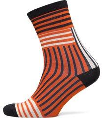 slfvida sock b lingerie socks regular socks orange selected femme