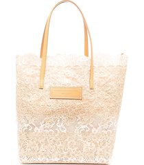 beige and nude seeds of love shopper