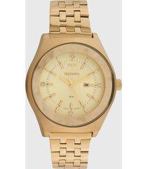 relógio technos 2015cea/4x dourado