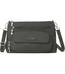 baggallini women's original rfid everyday crossbody bag