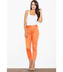 spodnie valentia m109 pomaranczowe