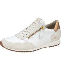 sneakers paul green vit::guldfärgad
