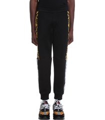 versace pants in black polyester