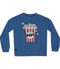 yporque popcorn print sweatshirt
