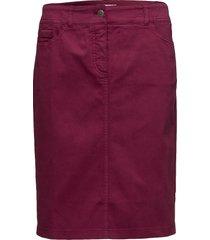 skirt short woven fa kort kjol röd gerry weber edition