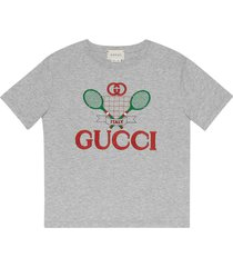 gucci cotton gucci tennis t-shirt