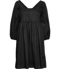 merle dress kort klänning svart just female