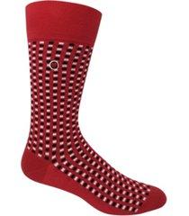 organic cotton men's dress socks - squares