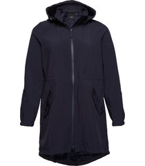 softshell jacket waterproof soft and warm parka lange jas jas blauw zizzi