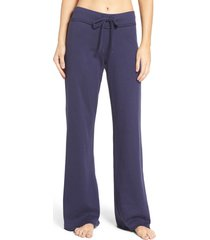 women's nordstrom lingerie 'lazy mornings' lounge pants, size xx-small - blue