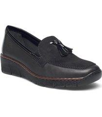 53771-00 loafers låga skor svart rieker