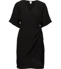 dress mom lisen knälång klänning svart lindex