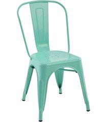 conjunto 02 cadeiras iron verde rivatti - verde - dafiti