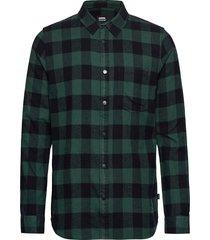 idris shirt skjorta casual grön dr. denim