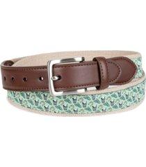 club room men's horseshoe novelty belt, created for macy's