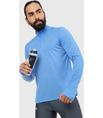 buzo azul under armour streaker 2.0 half zip