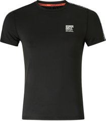 tränings-t-shirt training slim fit taped tee