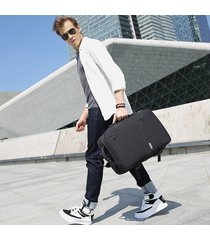 mochila de hombre. mochila hombres nuevo negocio carga-negro