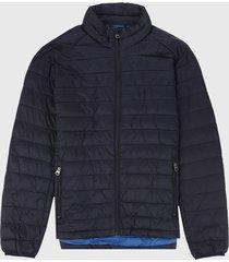 chaqueta azul navy levis