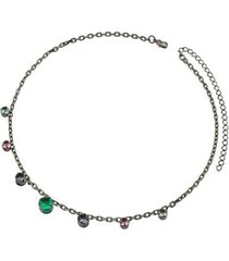 colar dona diva semi jóia aurora boreal feminino