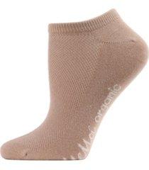 women's organic cotton mesh-top liner socks