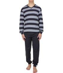 seidensticker pyjama interlock v-hals