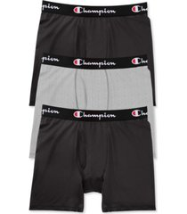 champion men's 3-pk. everyday stretch boxer briefs
