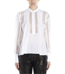 ermanno scervino shirts white