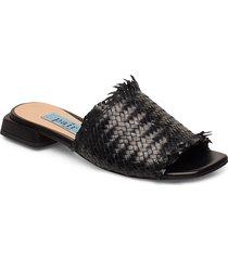 braided flat sandal shoes summer shoes flat sandals orange apair