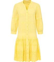 abito ricamato (giallo) - bodyflirt