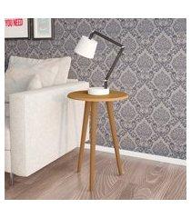 mesa de apoio móveis bechara brilhante cinamomo