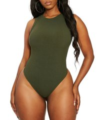 the nw snatched ribbed bodysuit