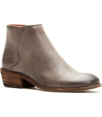 women's frye carson piping bootie, size 11 m - grey
