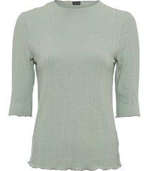 maglia a costine con mezze maniche (verde) - bodyflirt