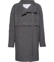 hardy long coat yllerock rock grå designers, remix