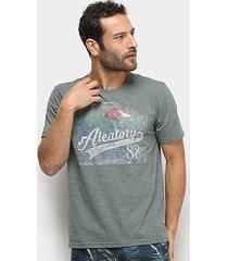 camiseta aleatory adventure explorer masculina