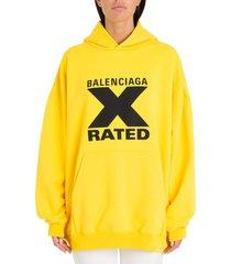 balenciaga x-rated hoodie