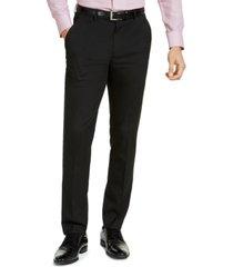 alfani men's slim-fit stretch solid suit pants, created for macy's
