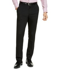 alfani men's slim-fit stretch solid suit pants, created for macy's