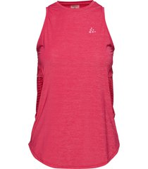 nrgy singlet w t-shirts & tops sleeveless röd craft