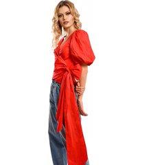 blusa primia julieta rojo