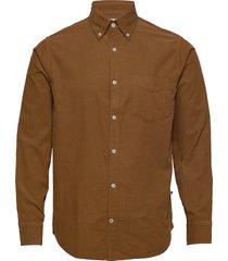 levon shirt 5082 overhemd casual bruin nn07