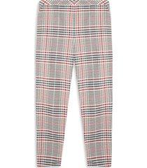 pantalón chino a cuadros