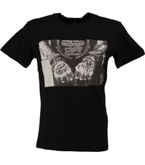 replay stevig zacht t-shirt valt 2 maten kleiner