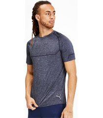 energy seamless trainings-t-shirt voor heren, blauw, maat 3xl | puma
