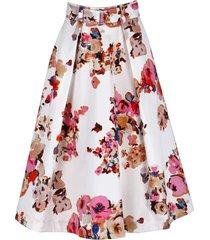 msgm cotton full skirt