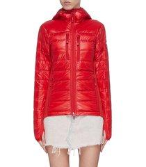 'hybridge lite' hooded puffer jacket