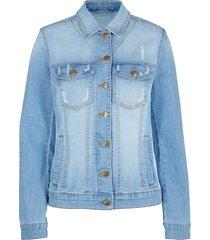 giacca di jeans con inserti a costine (blu) - bpc bonprix collection