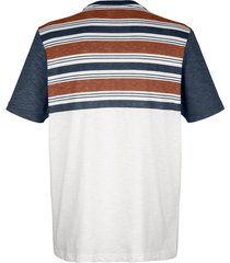 t-shirt roger kent marinblå::benvit