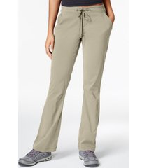columbia women's anytime omni-shield­ bootcut hiking pants